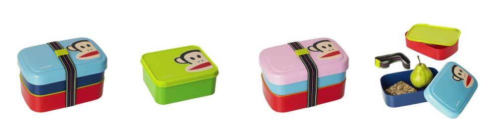 Paul Frank lunchboxen